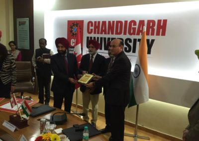 Chandigarh University - Guest of Honour