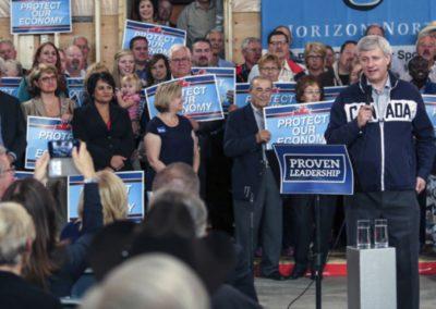 PM Harper visit - September 2015