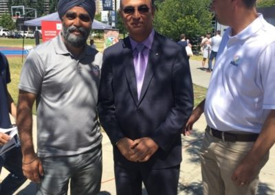 Harjit Sajjan, Defense Minister & Todd Stone, MLA Kamloops