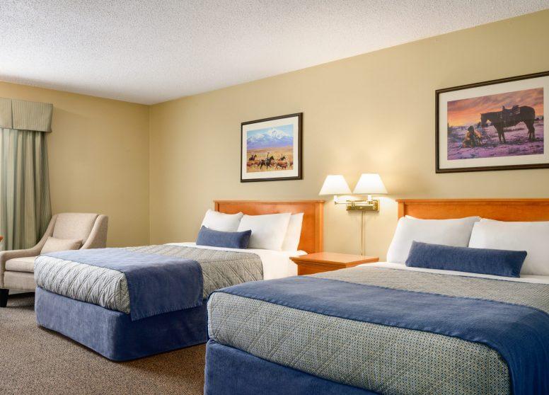 Travelodge Edson - 2 Q Beds - 1450285